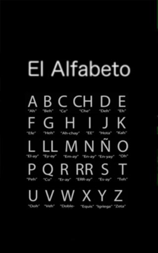 Spanish Alphabet Free