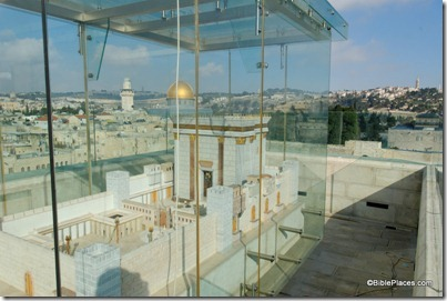 Temple model overlooking Temple Mount, tb010312511
