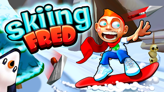 Skiing Fred Screenshot