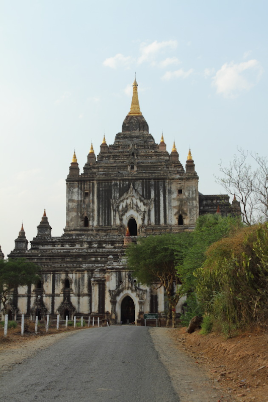 Thatbinyu Temple - the largest temple in Bagan, Burma
