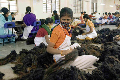 Must read human hair extensions may be possessed by demons these hindu pilgrims often offer their hair to deities such as the elephant headed god ganesha women men and even children give their hair as offering pmusecretfo Image collections