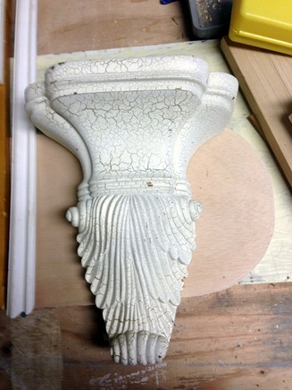decorative brackets to use on mantel 2