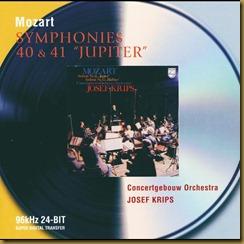Mozart 40 41 Krips