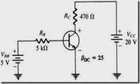 MCQs in Bipolar Junction Transistors Fig. 01