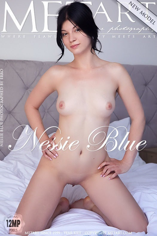 [Met-Art] Presenting Nessie Blue sexy girls image jav