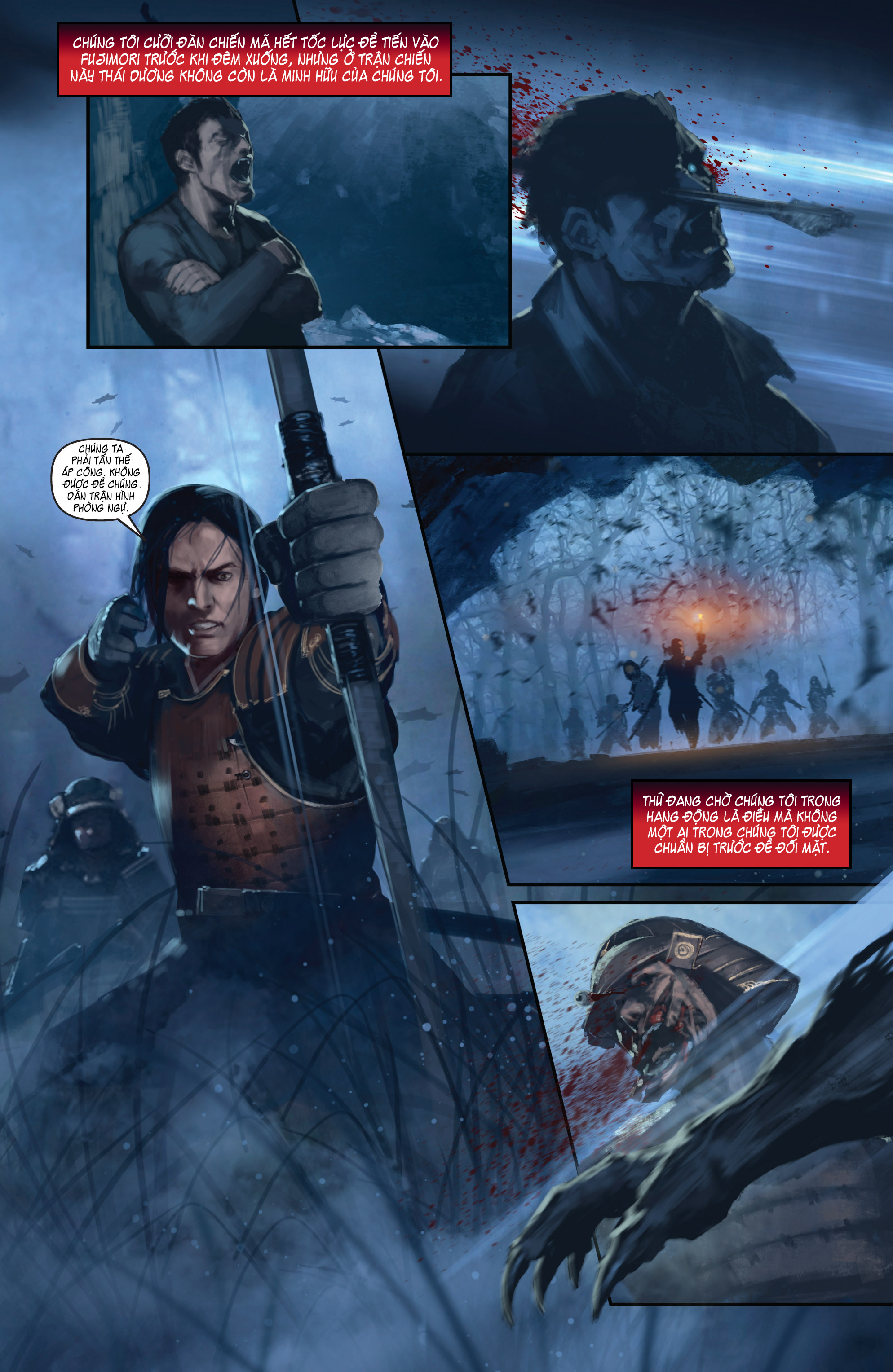 BUSHIDO - THE WAY OF THE WARRIOR chapter 4 trang 17