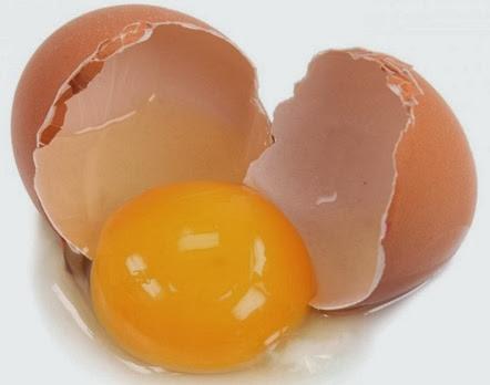 gambar telur pecah
