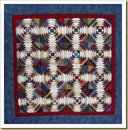 Donna's little Pineapple quilt for me 090411R