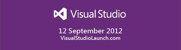 Visual Studio 2012 Launch Event (LIVE) on 12th September 2012