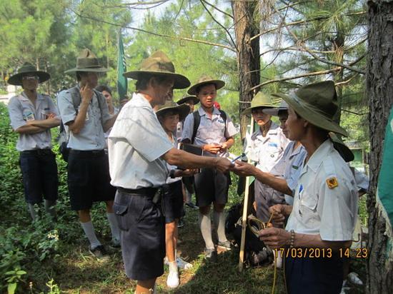 TraiDungThuaThioem2013 24 BHD GĐPT Thừa Thiên tổ chức Trại Dũng năm 2013