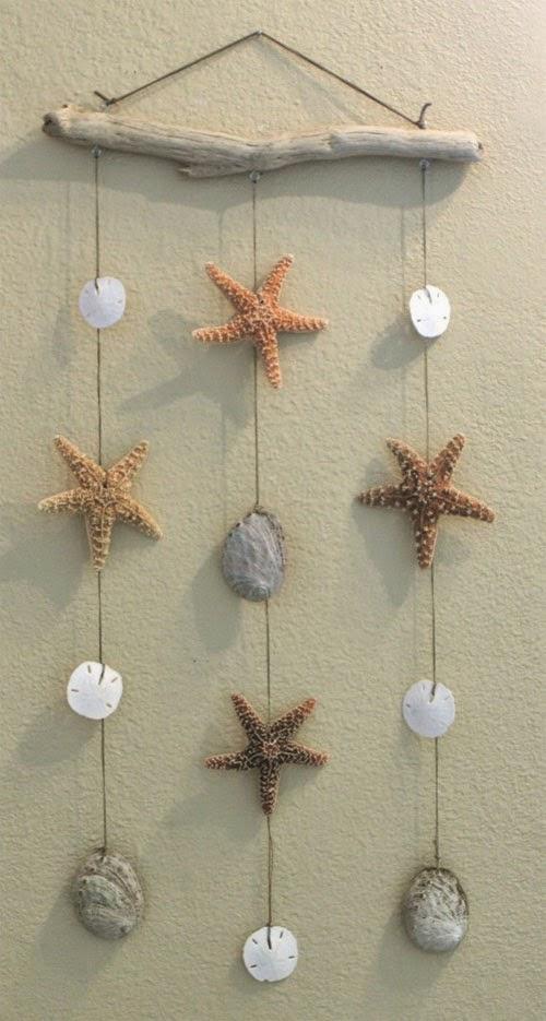 Inspiração: estrela do mar - decoração parede