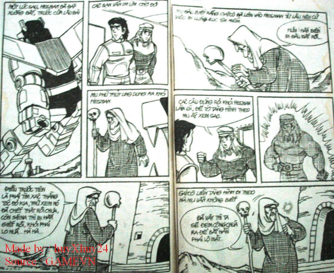 Dũng Sĩ Hesman chap 26 trang 30