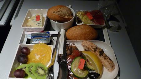 Air France: mancare zbor Bucuresti - Paris