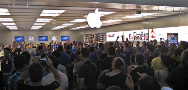 Applenosol CXXXIX: Nueva Apple Store Parquesur.