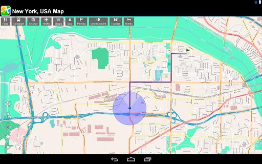 【免費旅遊App】紐約,美國 離線地圖-APP點子