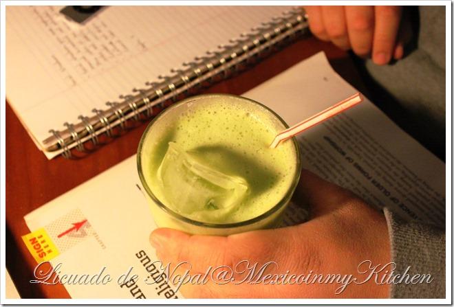 Nopal Cactus Juice | Licuado de Nopales