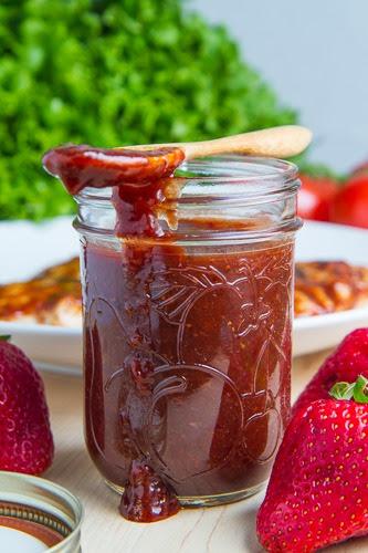 Strawberry BBQ Sauce 500 9702