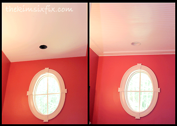 Installing ceiling