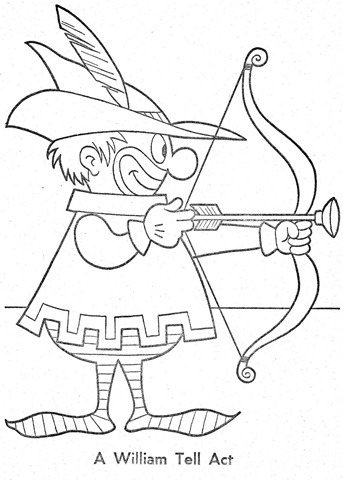 palhaço-colorir-Clowns To Color-coloring page-00027