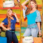 Angelica Jaramillo y Sofia Jaramillo Modelando D'Axxys Jeans Foto 42