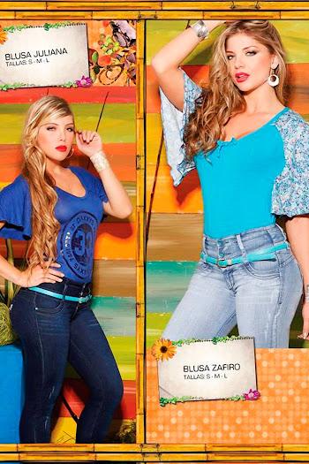 Angelica Jaramillo y Sofia Jaramillo Axxys Jeans Foto 42