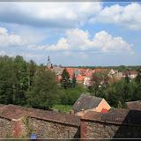 Blick von Burg Eisenhardt nach Belzig