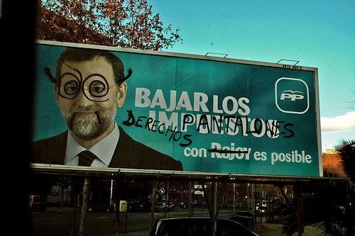 Rajoy sign