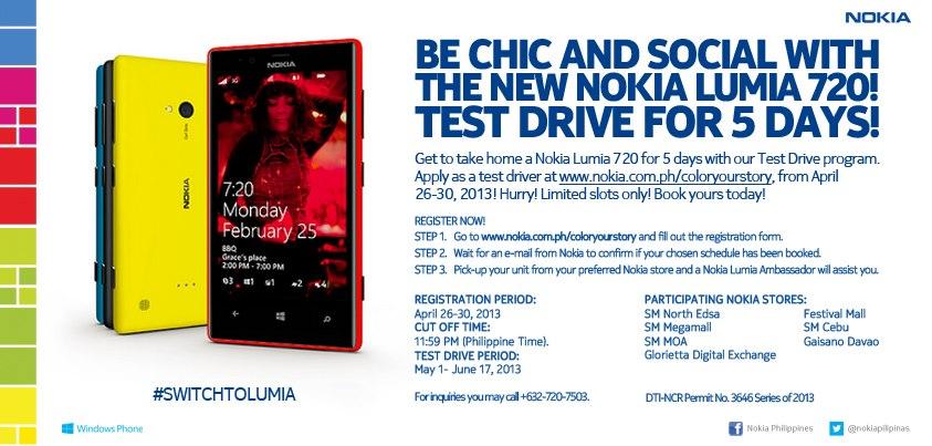 nokia lumia 720 test drive