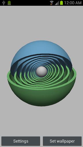 3D Super Sphere Live Wallpaper