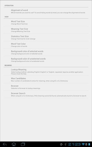 English Vocabulary List 1.0 Windows u7528 6