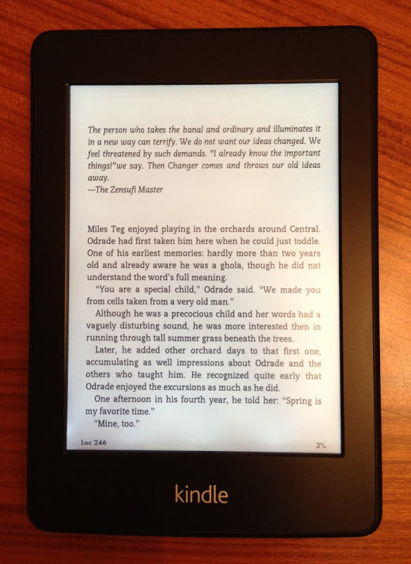 Kindle Paperwhite 3G Review: Finally a Worthy Successor to