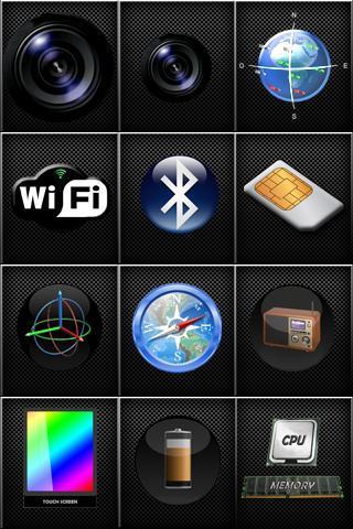 Z - Device Test (Ad Free): captura de pantalla