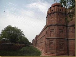 Ramparts of The Red Fort