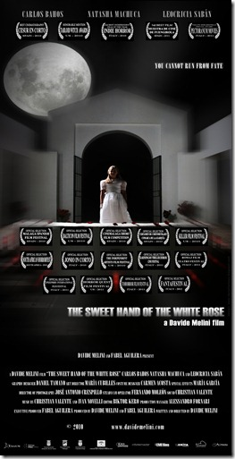 THE SWEET HAND OF THE WHITE ROSE - OFFICIAL POSTER