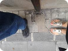 Narrow Streets-Feet