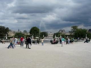 Jardin des Tuileries à Paris