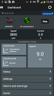 Grundfos GO Remote- screenshot thumbnail