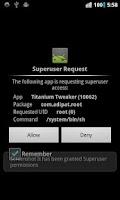 Screenshot of [root] Titanium Tweaker