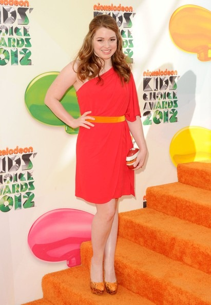 Jennifer Stone attends Nickelodeon's 25th Annual Kids' Choice Awards
