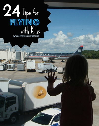 Traveling with Children: 24 Tips for Flying with Kids - These are great trips for traveling with kids of all ages including airports with playgrounds, flying even if you forgot your photo id and more!