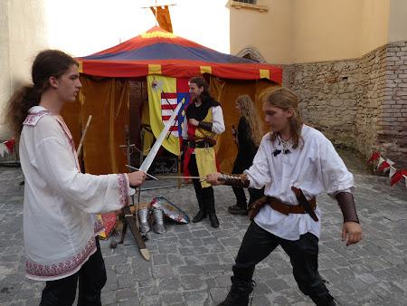 Obiective turistice Romania: lupte cavaleresti