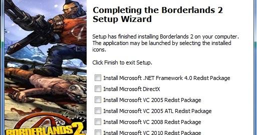 Friendly Liaison: Installing Borderlands 2 ver  1 0 0, Related