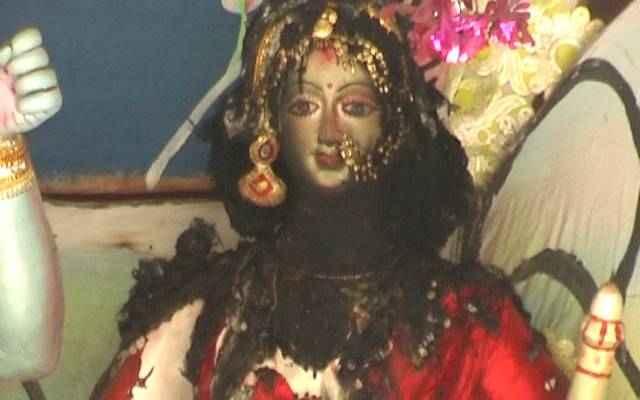 Muslim miscreants set a Hindu temple ablaze at Keshurita Modhyaparha Shri Shri Laximata Gazipur Sadar at Upazila