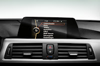 New BMW 3 Series: On-board monitor (10/2011)