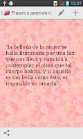 Screenshot of Frases y Poemas de Amor