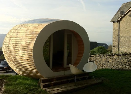 Outdoor office pod Tiny The Pod Which Boasts An Impressive 460squarefoot Work Area Is Multifunctional Space That Makes Perfect And Spacious Outdoor Office Alizul Alizul 15 Incredible Outdoor Office Pods
