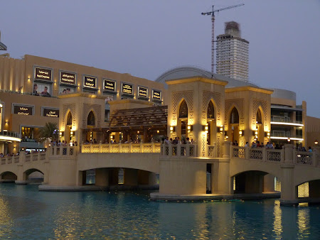 Obiective turistice Dubai: zona Dubai Mall