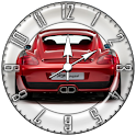 Red Car 6 Cool Widget Clock!! logo