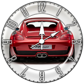 Red Car 6 Cool Widget Clock!!