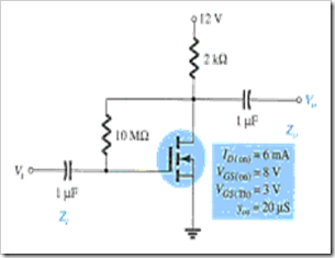 MCQs in FET Amplifiers Fig. 14